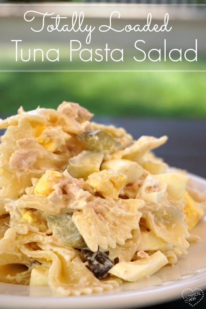Loaded Tuna Macaroni Salad Recipe 183 The Typical Mom