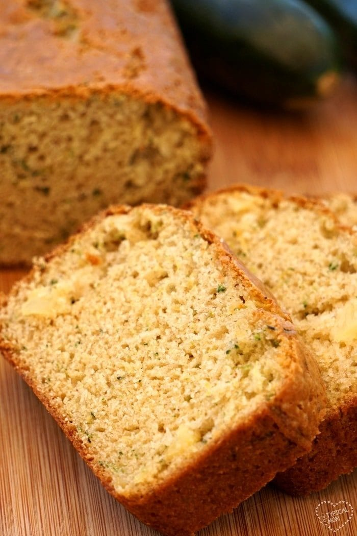 Zucchini pineapple bread · The Typical Mom