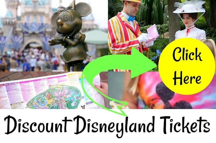 disneyland tickets discount