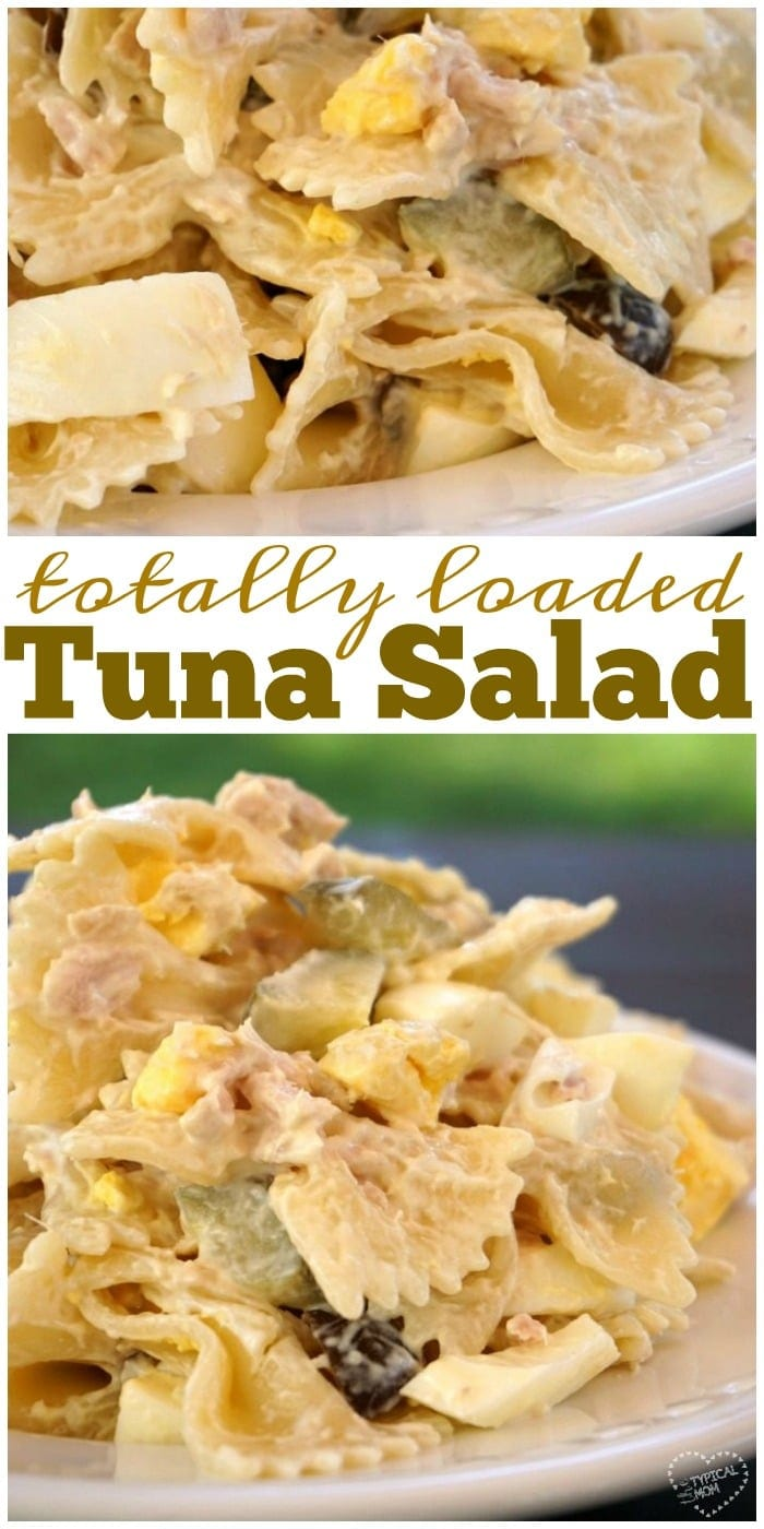 Tuna macaroni salad recipe the typical mom for Macaroni salad with tuna fish