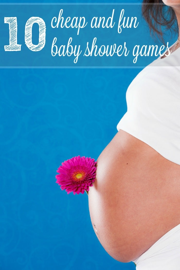 cheap and fun games to play at a baby shower plus free printable baby
