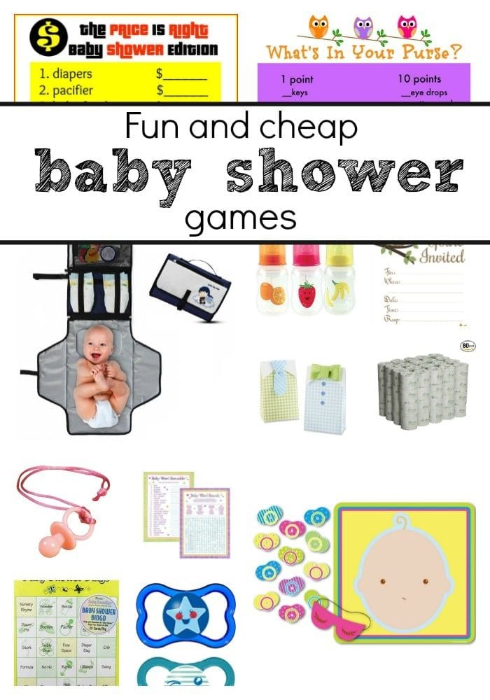 baby shower games to play at a boy or girl baby shower