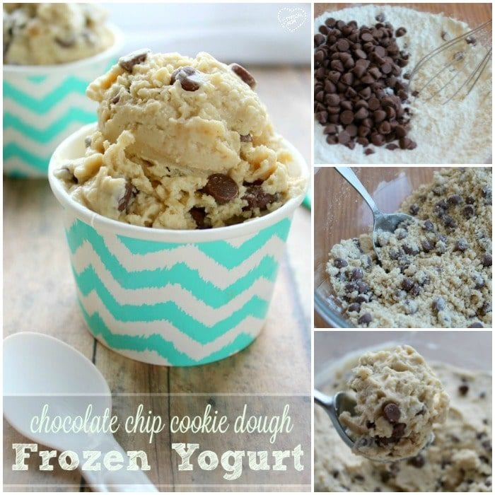 Homemade frozen yogurt recipe