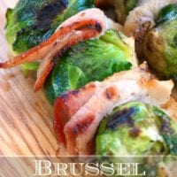 Brussel sprouts on the grill