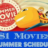 Regal Edwards $1.00 Summer Movies 2017