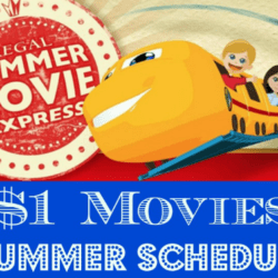 $1.00 Regal Edwards Summer Movies