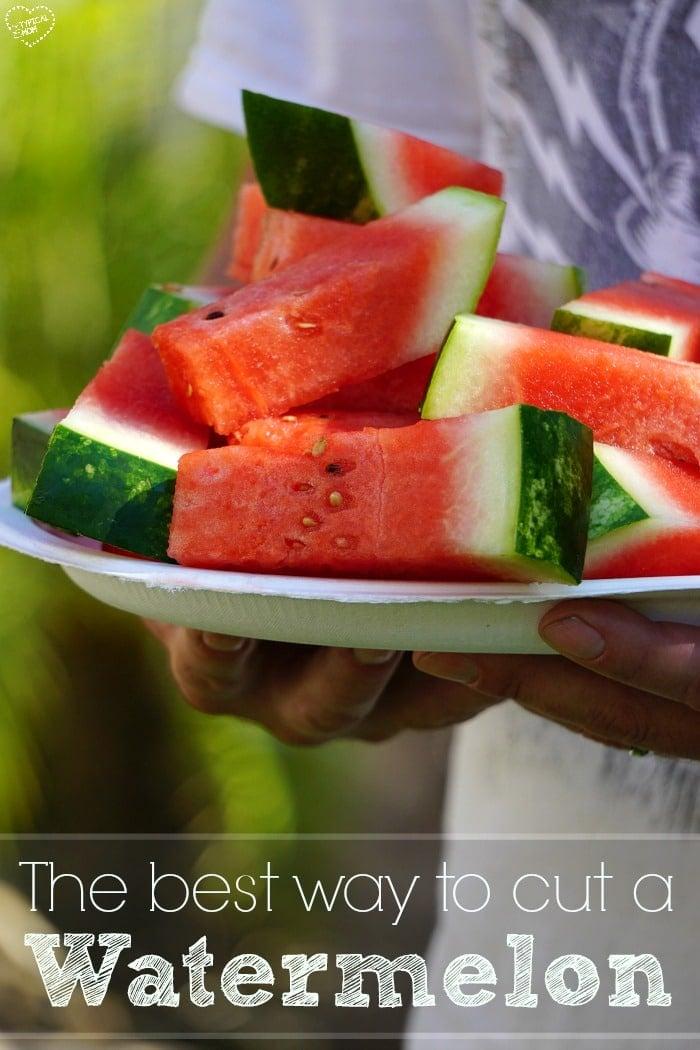 Best Way to Cut a Watermelon