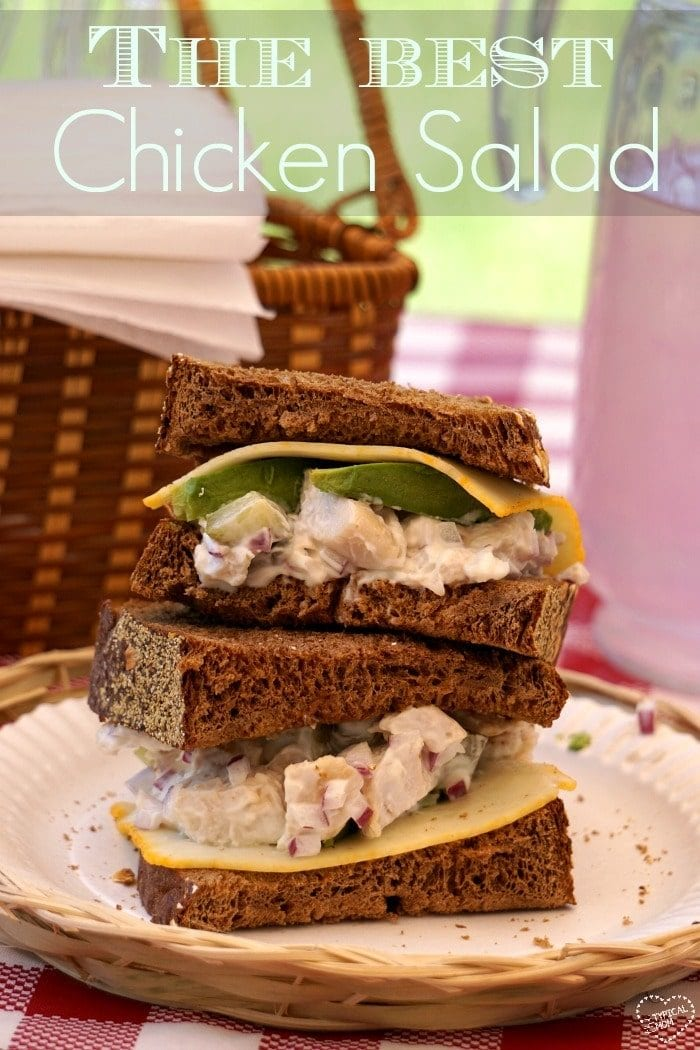 Easy chicken salad sandwich recipe