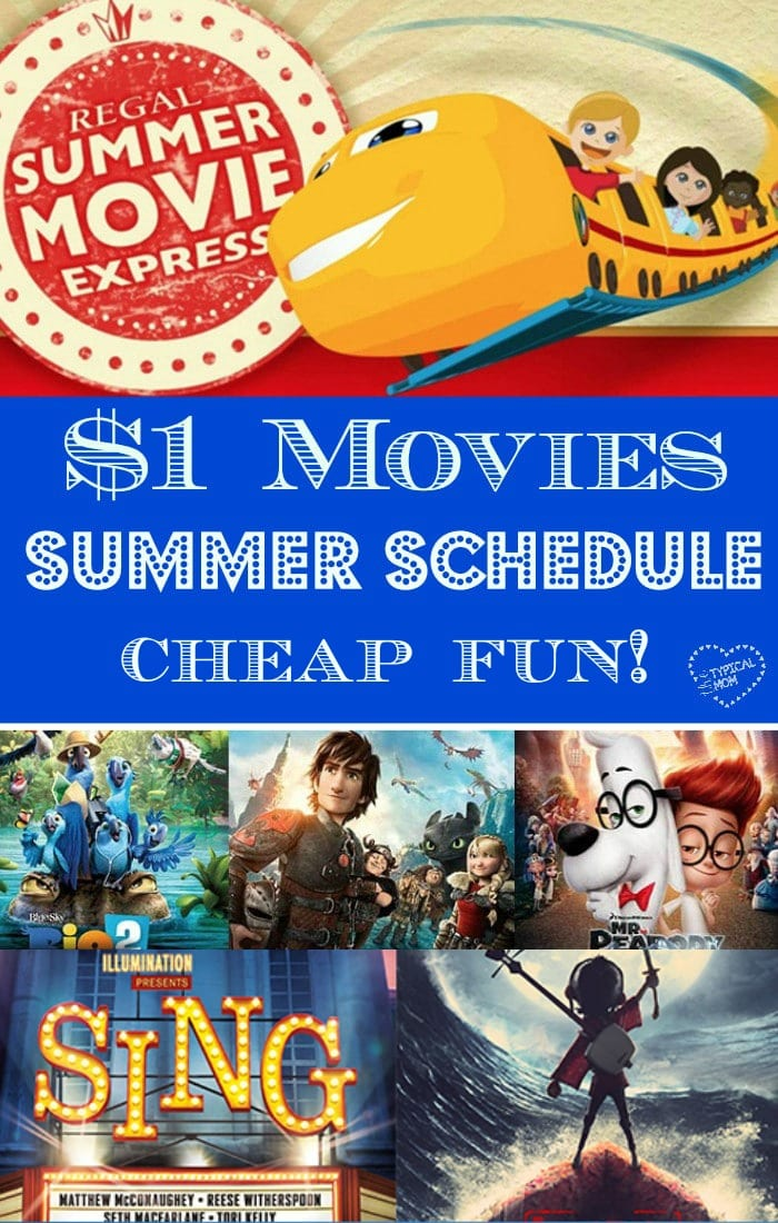 $1 00 Regal Edwards Summer Movies - 2018 Lineup