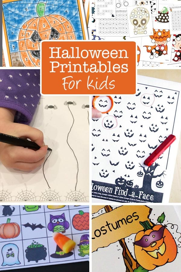 Halloween Bingo free printable game