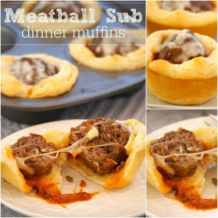 Meatball muffin recipe
