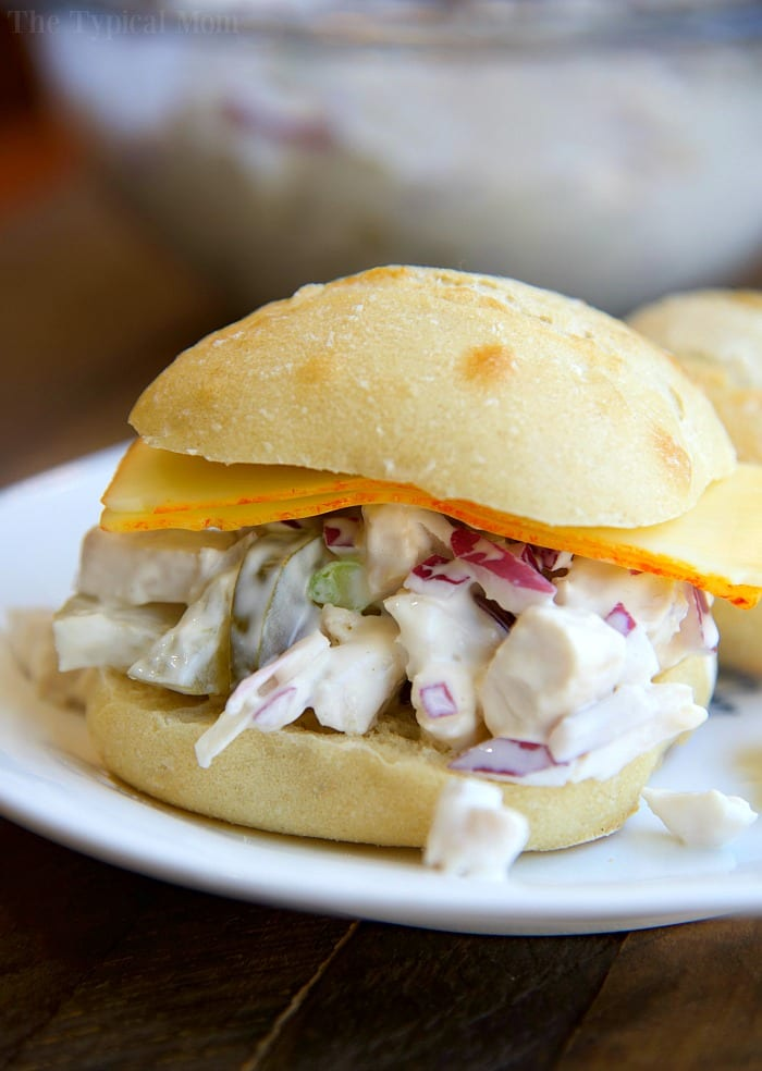 How to Make Easy Chicken Salad Sandwich Recipe · The ...