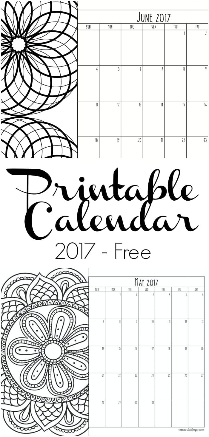 Calendar Girl May Free Pdf : Printable calendar pages · the typical mom