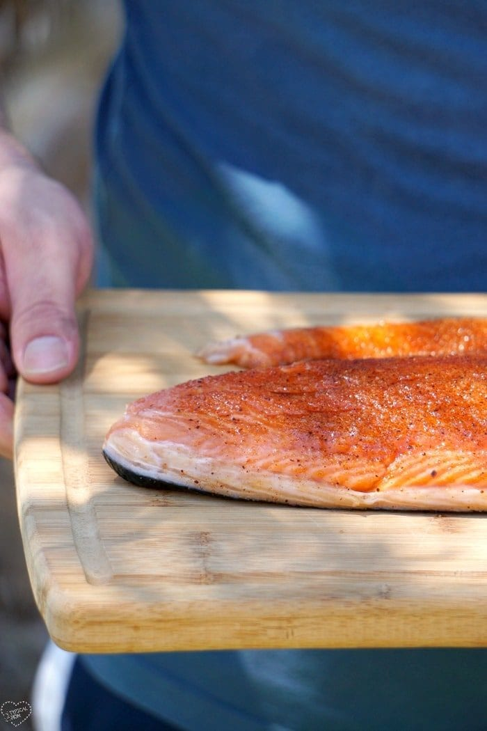 how to smoke salmon