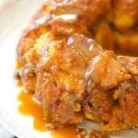 caramel pumpkin monkey bread