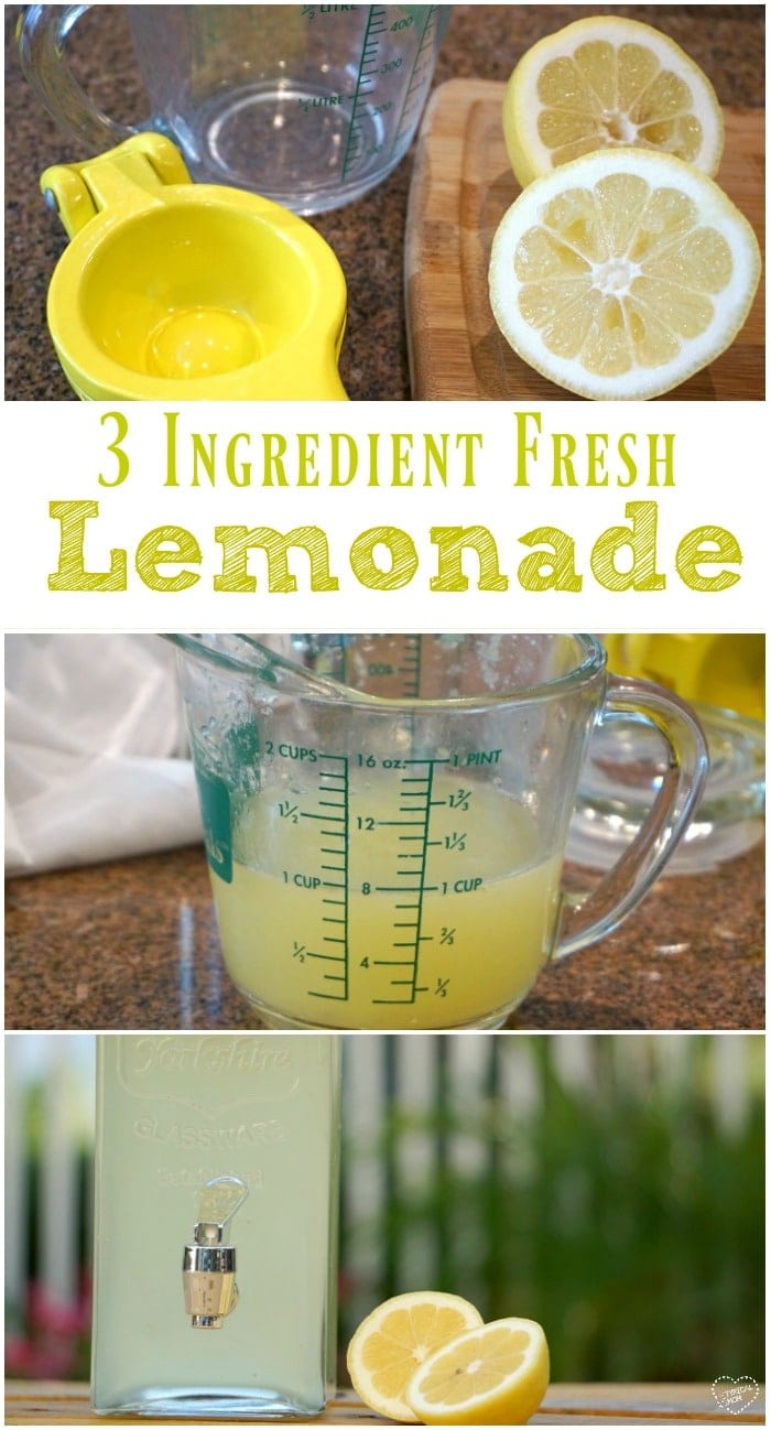 fresh squeezed lemonade recipe the typical mom. Black Bedroom Furniture Sets. Home Design Ideas