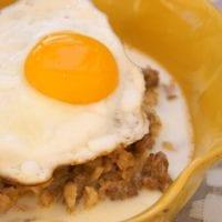 Sausage and Egg Savory Oatmeal