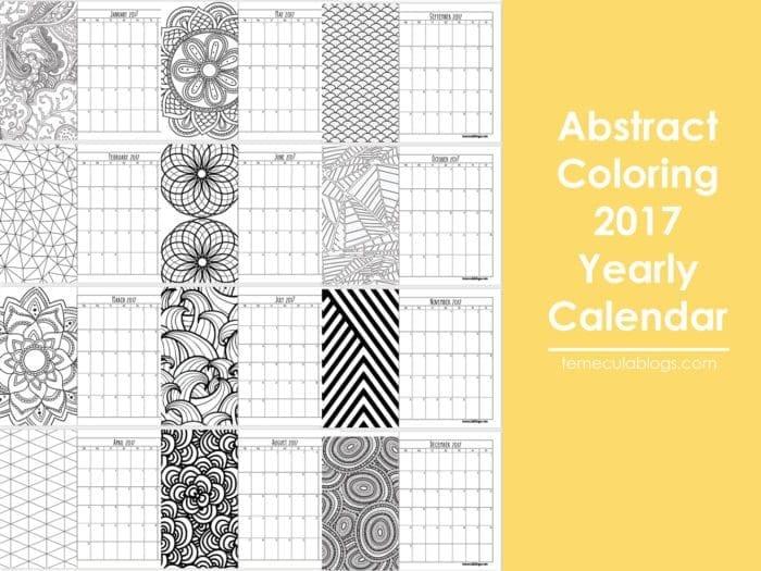 printable calendar pages