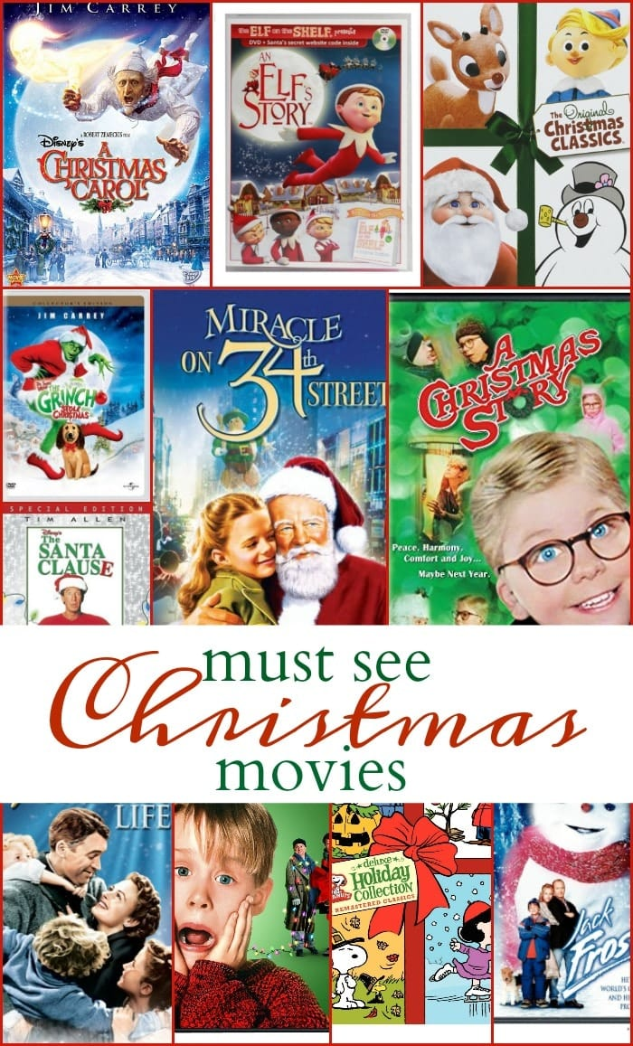 Christmas movies list · The Typical Mom