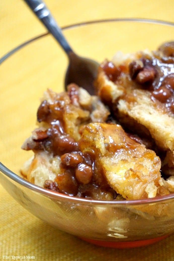 caramel pecan french toast casserole