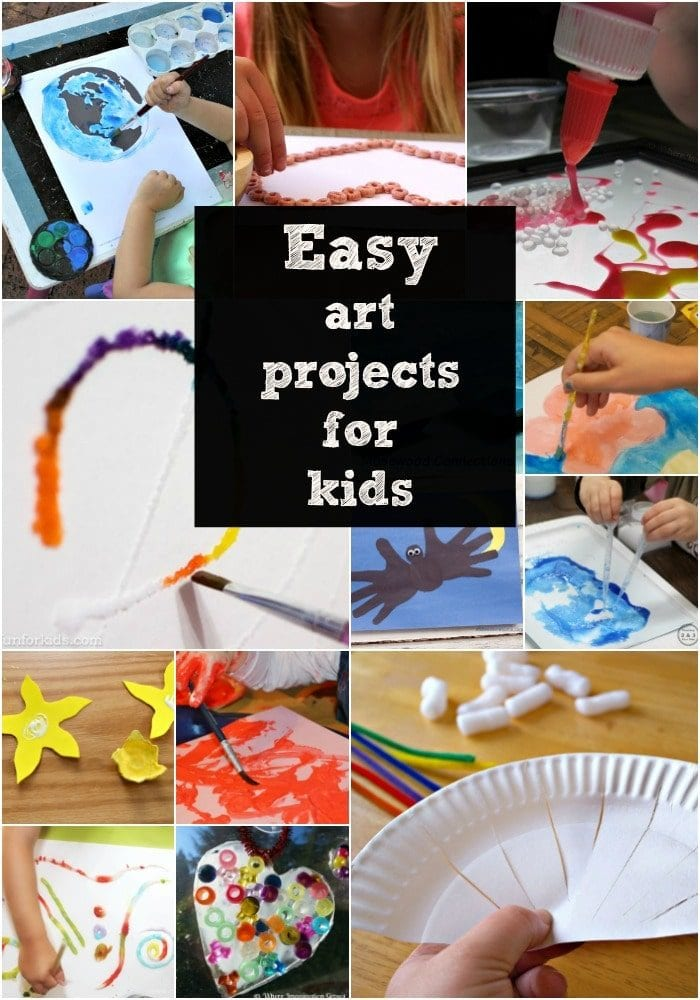 Art And Craft Ideas For Kids The Typical Mom