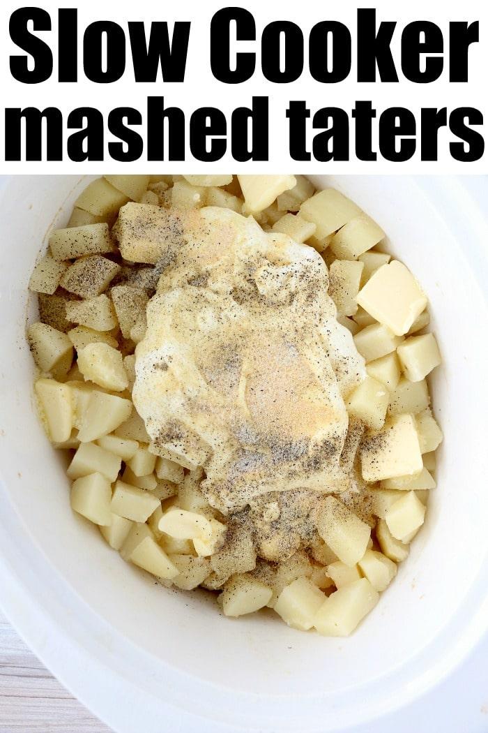 make ahead mashed potatoes slow cooker