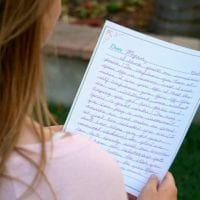 Why you should write a letter to your teenager