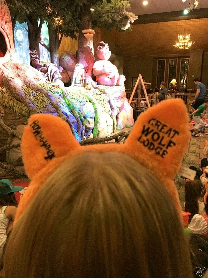 Pictures from Great Wolf Lodge Howloween celebration as well as what's to come when they transform it into Snowland for Christmas time!