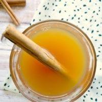 4 Ingredient Crockpot Hot Apple Cider Recipe