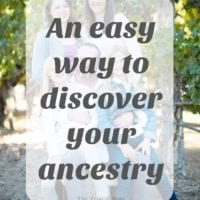 Discovering your ancestry