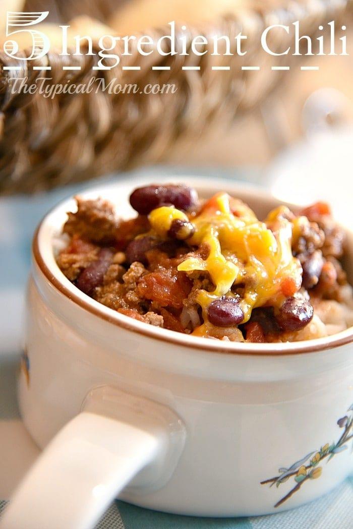 easy chili recipe crock pot