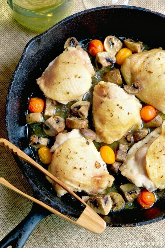 baked bone in chicken thighs recipe