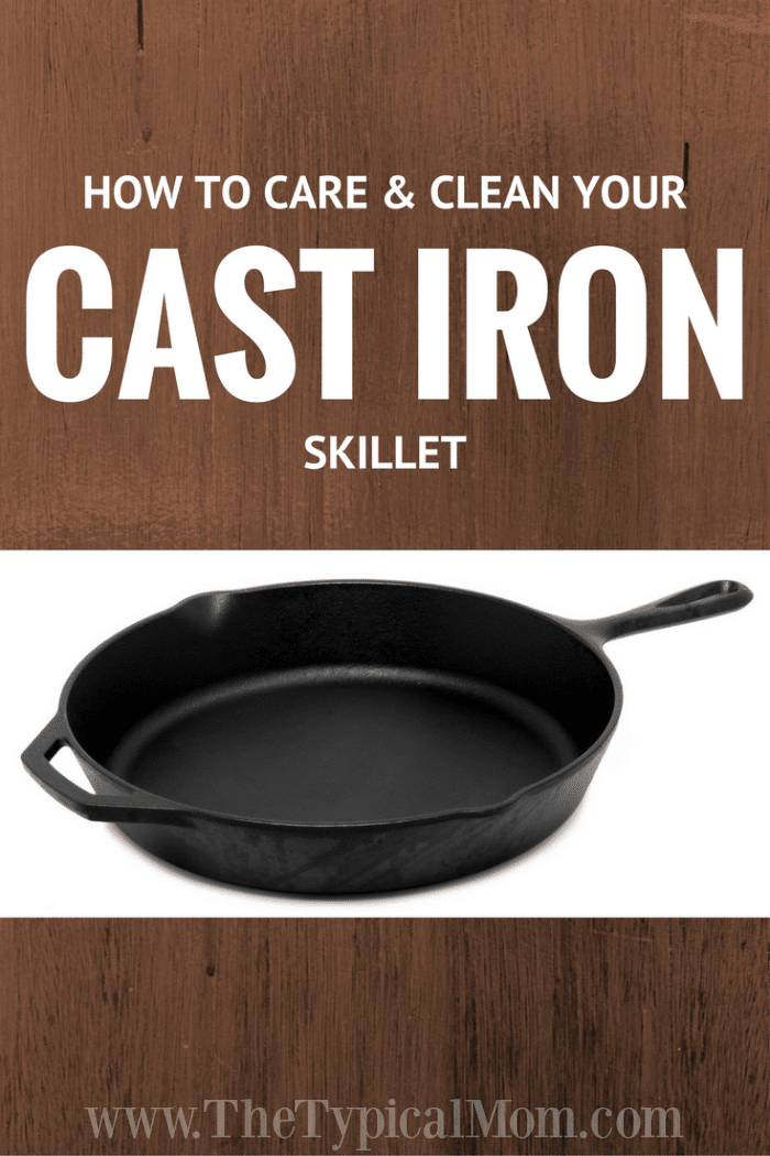 cast iron skillet care the typical mom. Black Bedroom Furniture Sets. Home Design Ideas