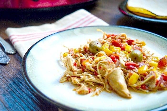 crockpot shredded chicken recipe