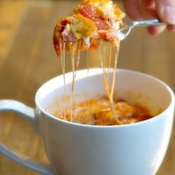 pizza in a mug recipe