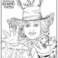 Alice Through The Looking Glass Free Printables
