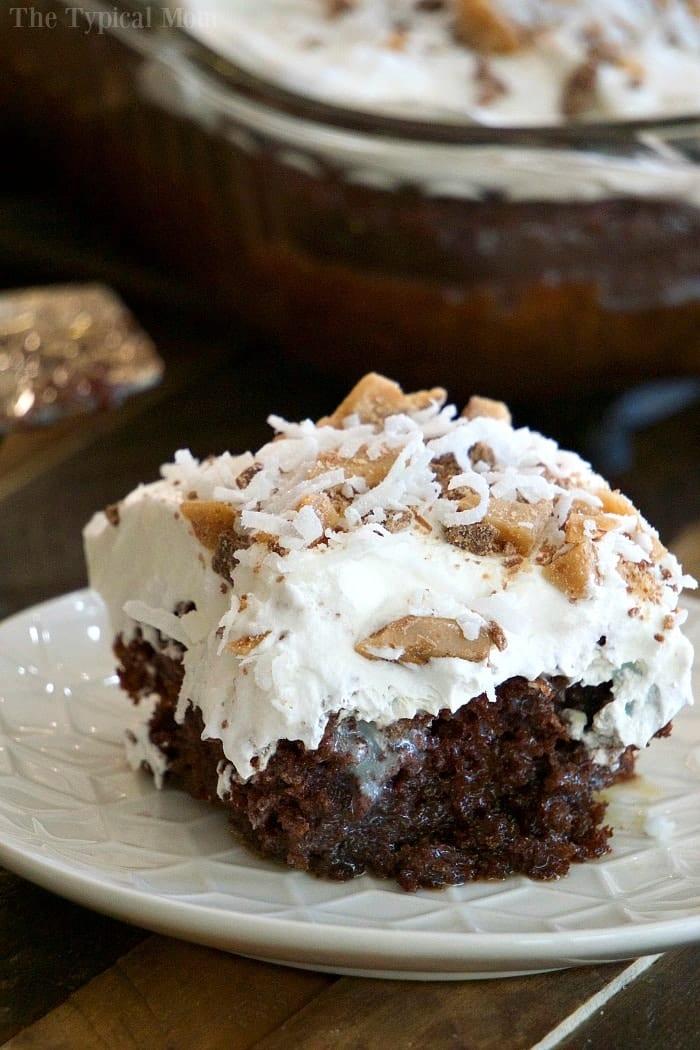 Chocolate Poke Cake Calories