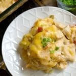 easy chicken tortilla casserole recipe