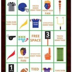 football bingo