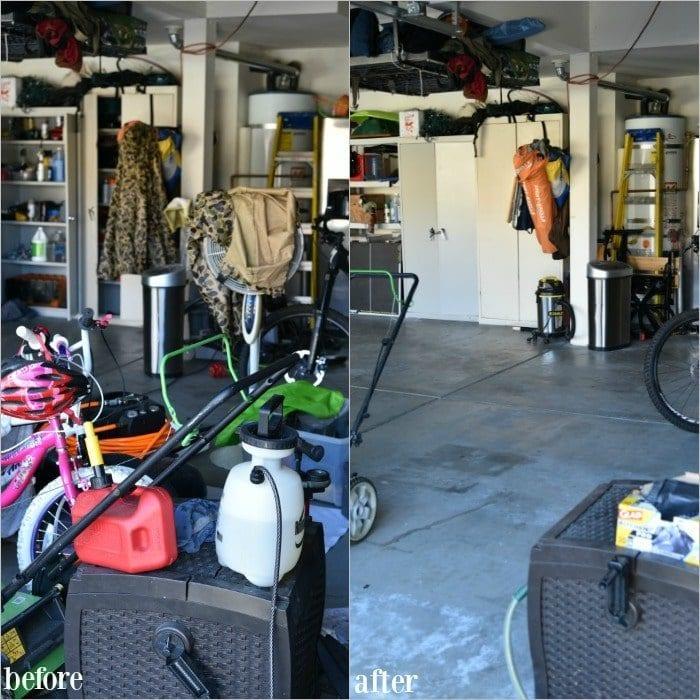 best way to organize garage