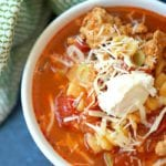 instant pot lasagna soup 2