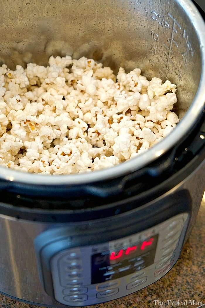 How To Make Instant Pot Popcorn Instructional Video