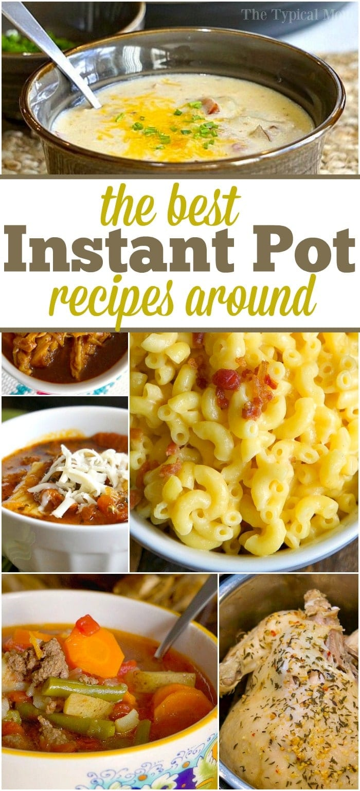 Instant Pot Recipes 183 The Typical Mom