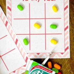 Tic Tac Toe Kids Valentine Cards