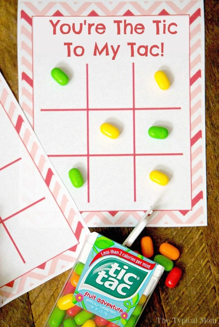 Tic Tac Toe Kids Valentine Cards The Typical Mom