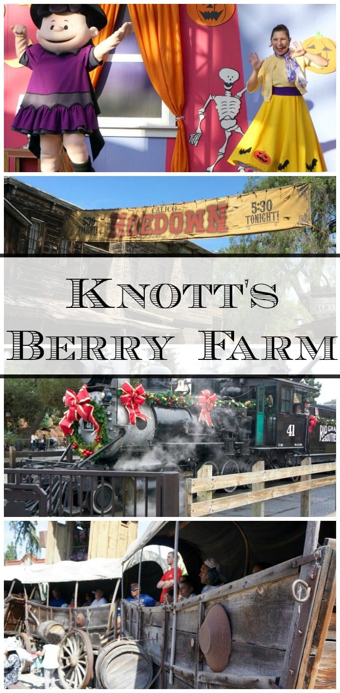 Knott's Berry Farm California is a great place to visit when you're in Southern California. One of the top amusement parks with something for everyone!