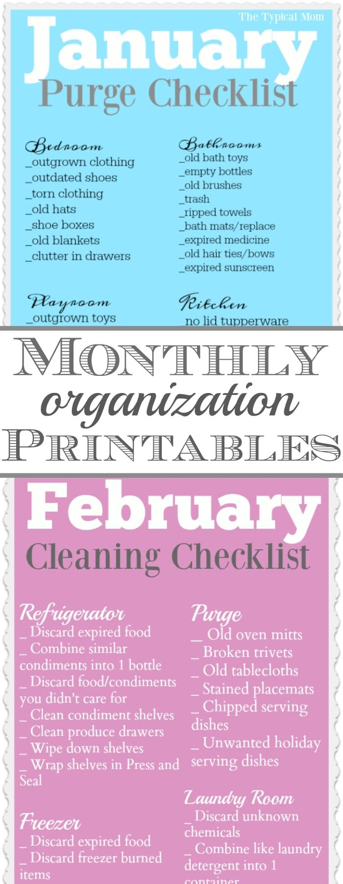graphic about Free Organization Printables named Business Printables · The Standard Mother