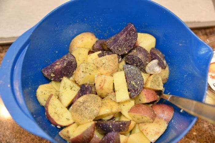 small potatoes recipe