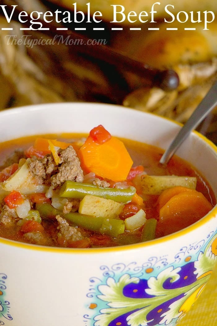 Best Instant Pot Vegetable Beef Soup Ground Beef Or