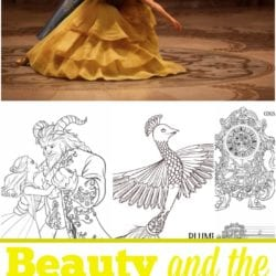 6 Beauty And The Beast Free Printables
